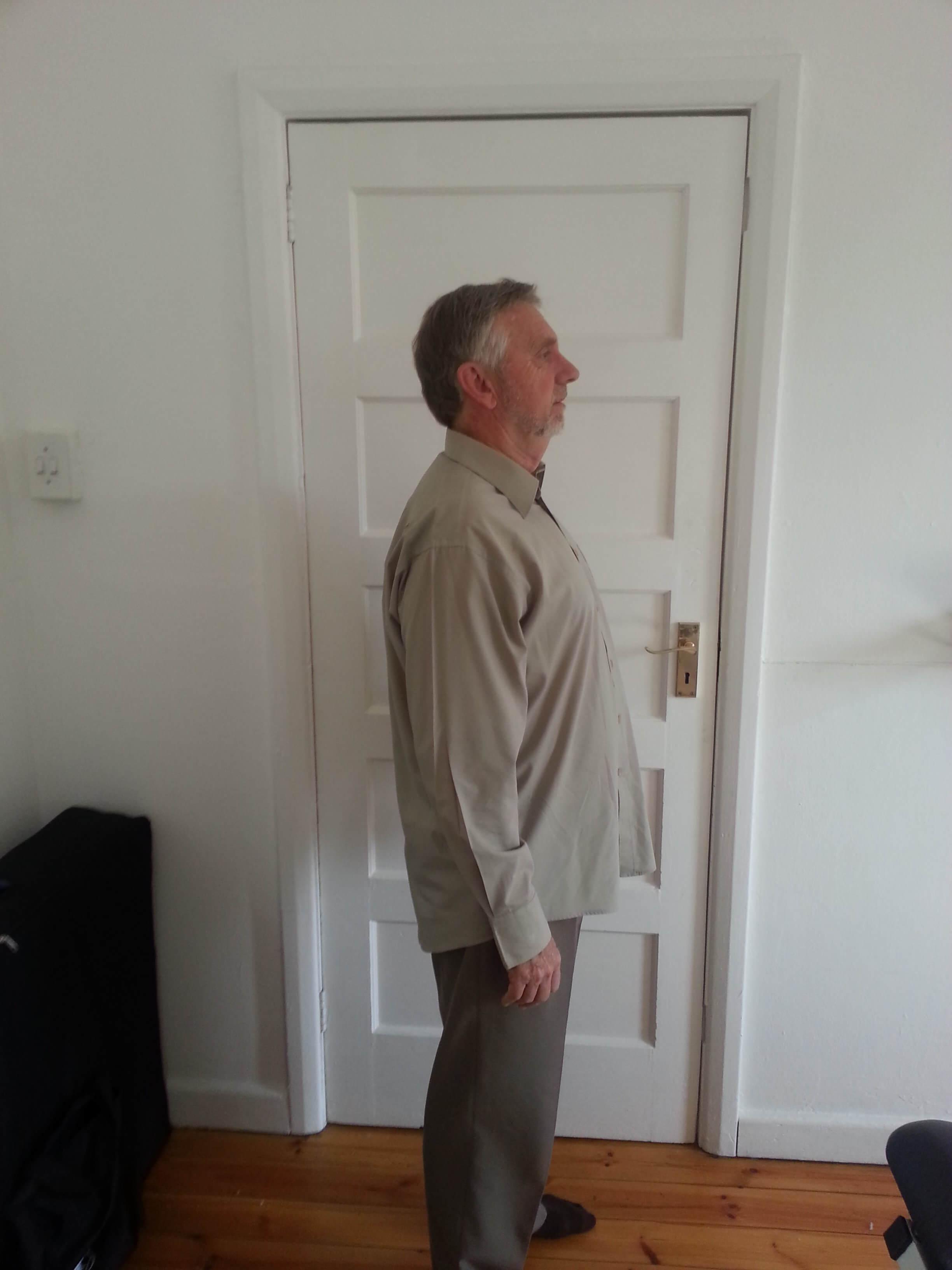after posture correction